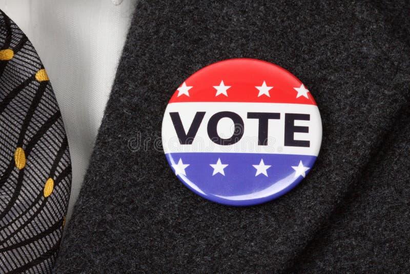 Ψηφίστε το κουμπί στοκ εικόνα με δικαίωμα ελεύθερης χρήσης