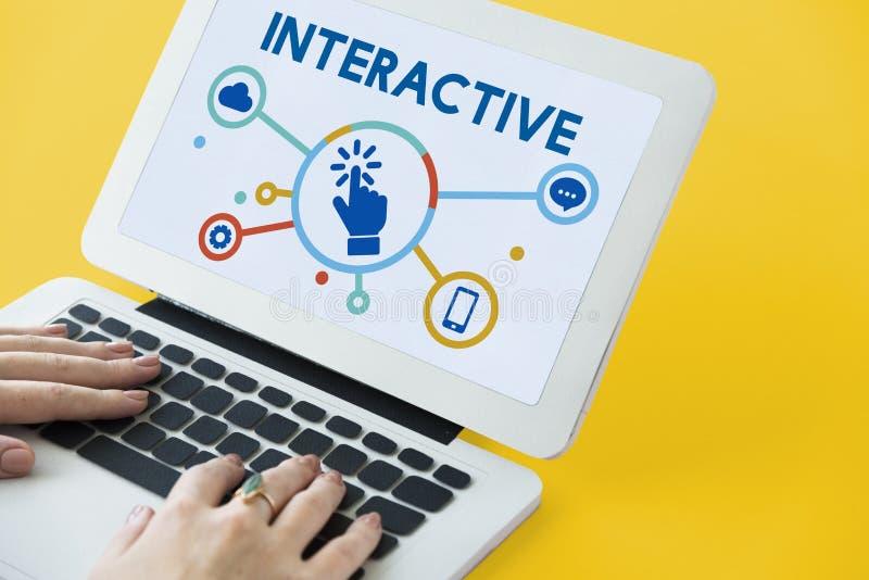 Ψηφιακή έννοια επικοινωνίας δικτύωσης τεχνολογίας στοκ φωτογραφία με δικαίωμα ελεύθερης χρήσης