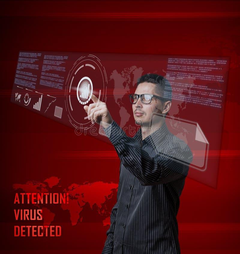 Ψηφιακή έννοια ελεύθερη απεικόνιση δικαιώματος