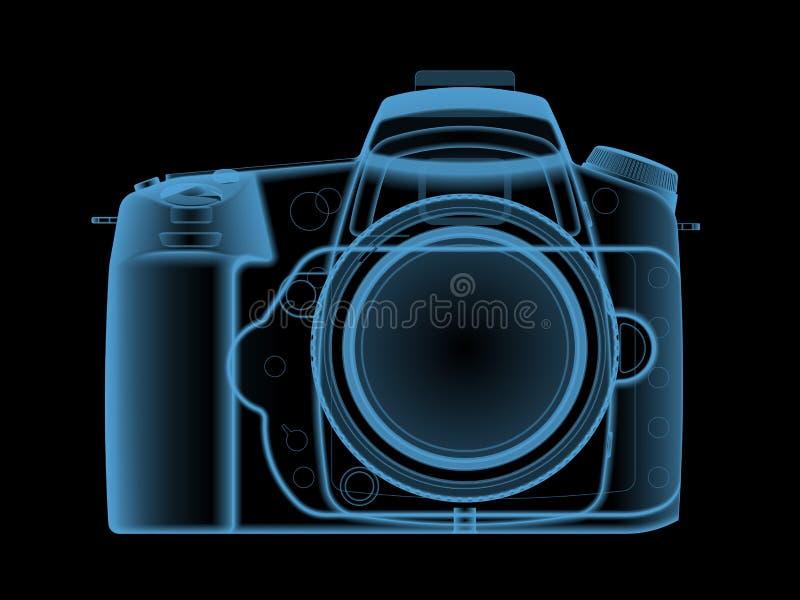 ψηφιακή ακτίνα Χ φωτογραφιών φωτογραφικών μηχανών στοκ φωτογραφία