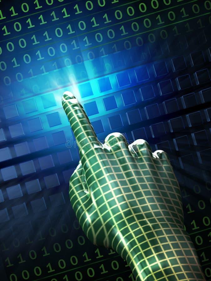 ψηφιακή αφή απεικόνιση αποθεμάτων