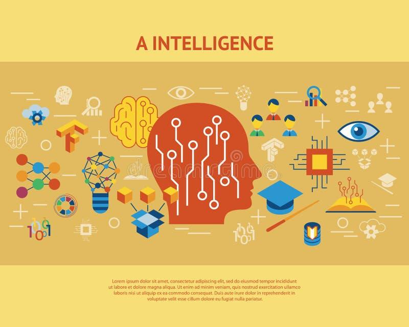Ψηφιακή διανυσματική βαθιά εκμάθηση απεικόνιση αποθεμάτων
