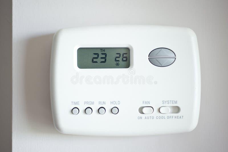ψηφιακή θερμοστάτης στοκ εικόνες με δικαίωμα ελεύθερης χρήσης