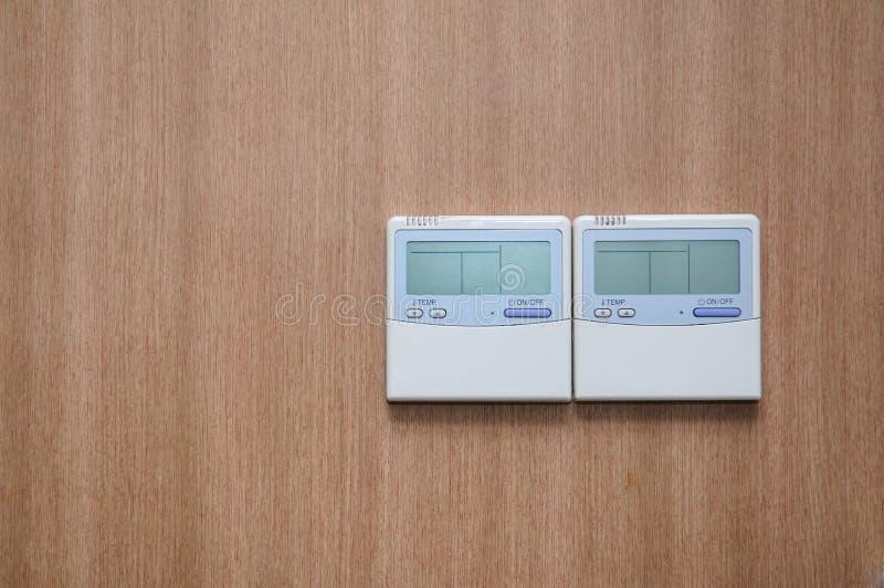 ψηφιακή θερμοστάτης στοκ εικόνα με δικαίωμα ελεύθερης χρήσης