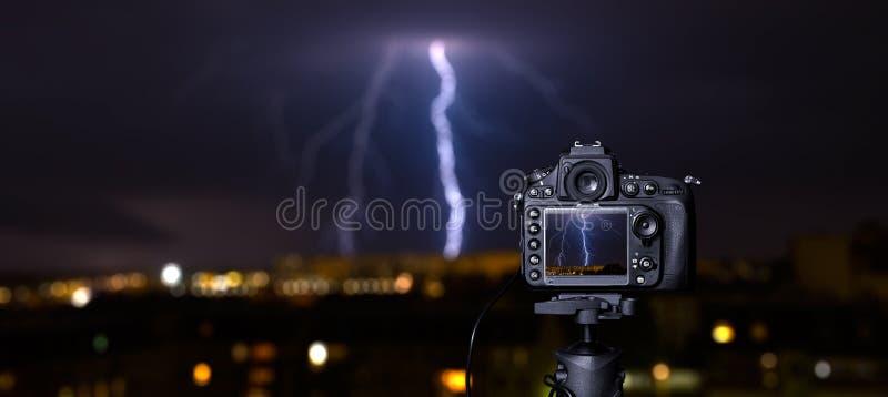 Ψηφιακή κάμερα η άποψη νύχτας στοκ εικόνες με δικαίωμα ελεύθερης χρήσης