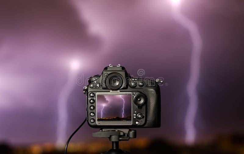 Ψηφιακή κάμερα η άποψη νύχτας στοκ φωτογραφία με δικαίωμα ελεύθερης χρήσης