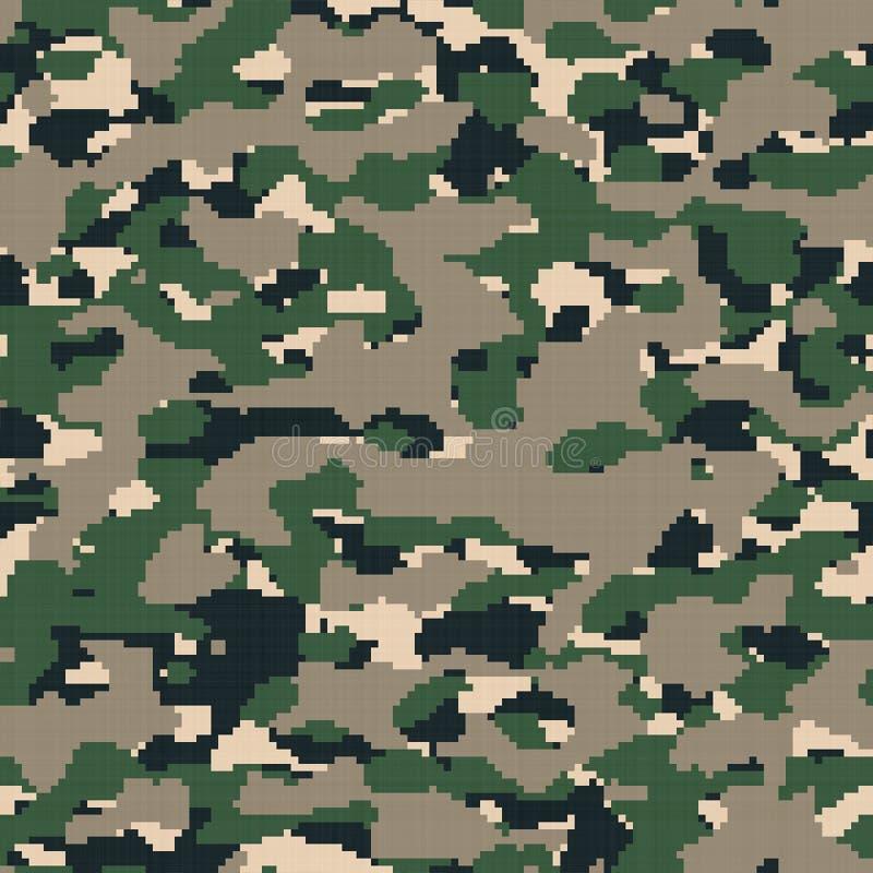 Ψηφιακή κάλυψη στρατού απεικόνιση αποθεμάτων