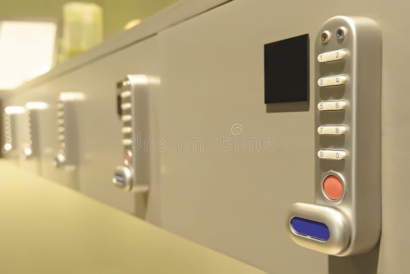 Ψηφιακή κωδικοποιημένη κλειδαριά στοκ φωτογραφία με δικαίωμα ελεύθερης χρήσης