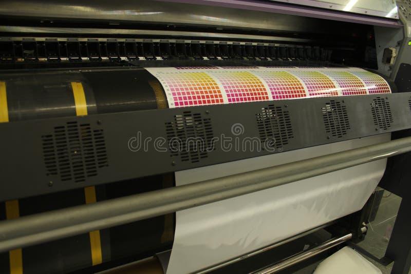 Ψηφιακή δοκιμή τυπωμένων υλών εκτύπωσης   στοκ φωτογραφία με δικαίωμα ελεύθερης χρήσης