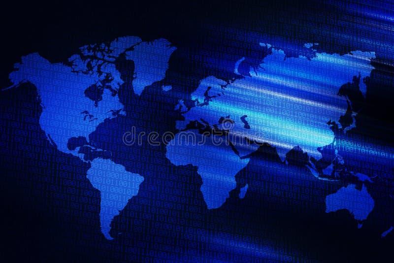 Ψηφιακή παγκόσμια ανασκόπηση διανυσματική απεικόνιση