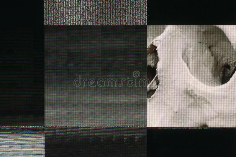 Ψηφιακή δυσλειτουργία στοκ εικόνα