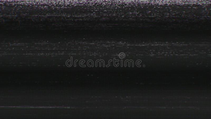 Ψηφιακός θόρυβος χιονιού εικονοκυττάρου τηλεοπτικής οθόνης στοκ εικόνες