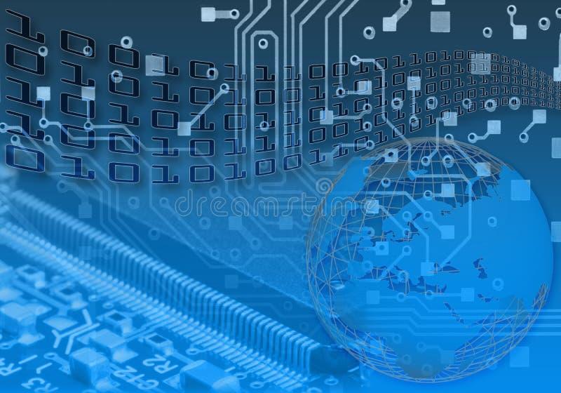 ψηφιακός κόσμος έννοιας απεικόνιση αποθεμάτων