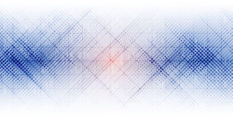 Ψηφιακός κόσμος τεχνολογίας Επιχειρησιακή εικονική έννοια Διάνυσμα backg διανυσματική απεικόνιση