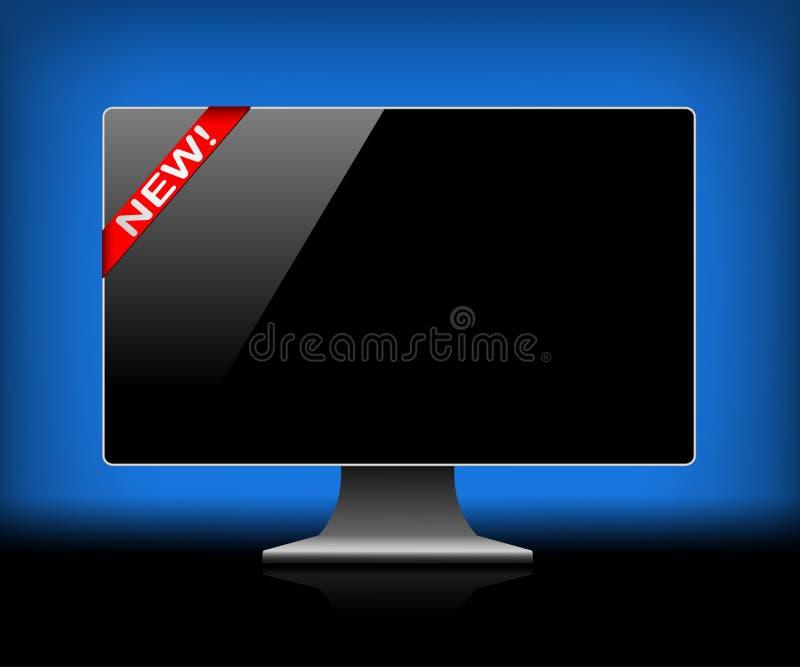 ψηφιακός μηνύτορας ελεύθερη απεικόνιση δικαιώματος
