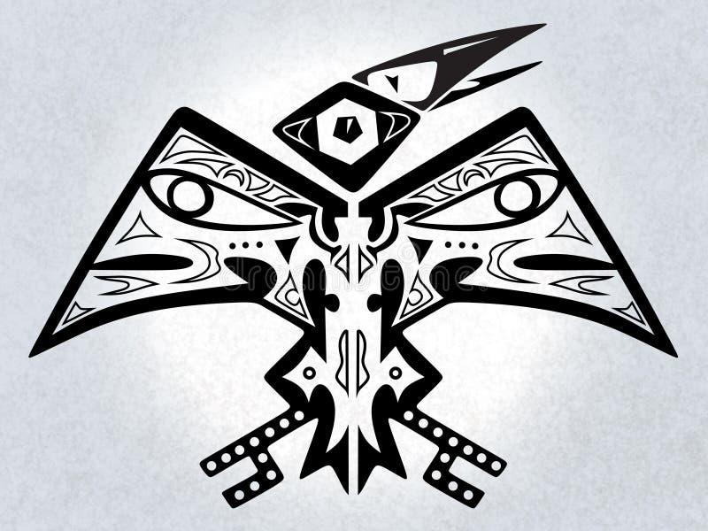 ψηφιακός μυθικός πουλιών έργου τέχνης απεικόνιση αποθεμάτων