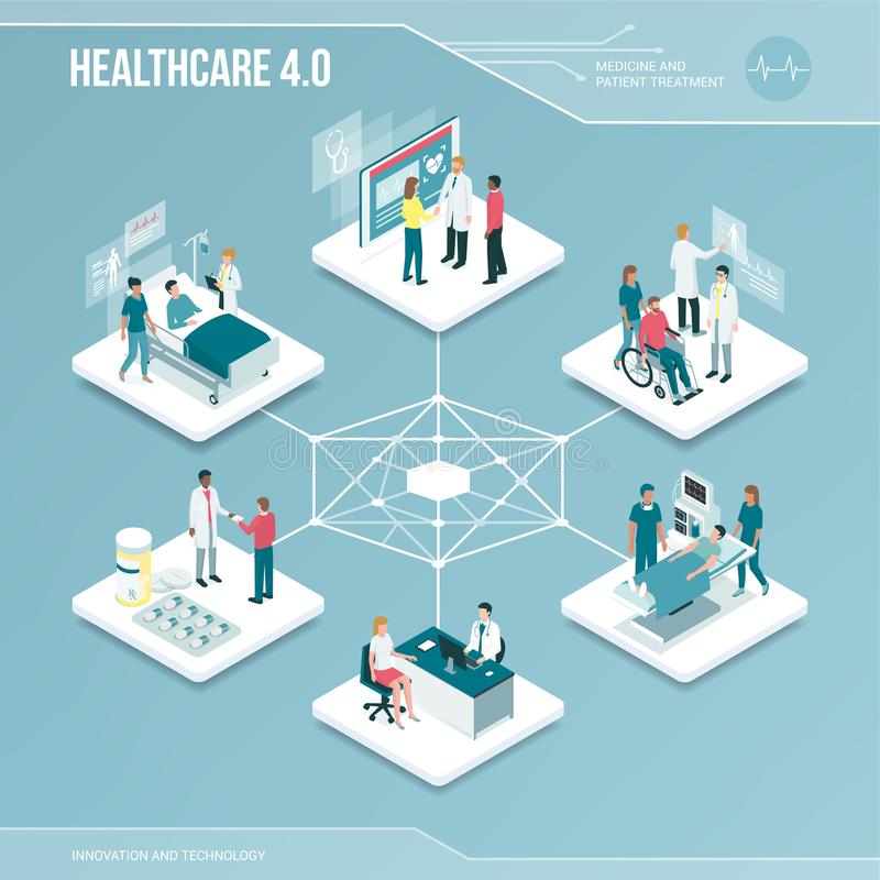Ψηφιακός πυρήνας: σε απευθείας σύνδεση υγειονομική περίθαλψη και ιατρικές υπηρεσίες απεικόνιση αποθεμάτων