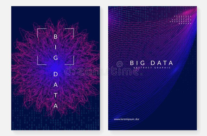 Ψηφιακό αφηρημένο υπόβαθρο τεχνολογίας Τεχνητή νοημοσύνη, διανυσματική απεικόνιση
