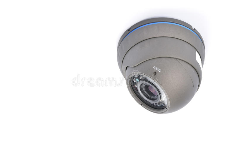 Ψηφιακό βίντεο εγγραφής και τηλεοπτικά κάμερα παρακολούθησης στοκ φωτογραφία