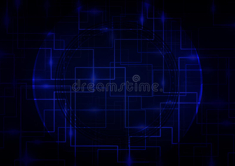Ψηφιακό επιχειρησιακό υπόβαθρο Abstrct διανυσματική απεικόνιση
