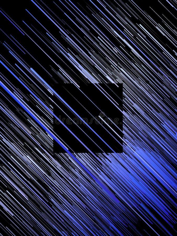 Ψηφιακό διαγώνιο μπλε αφηρημένο υπόβαθρο γραμμών τρισδιάστατη απόδοση στοκ εικόνες