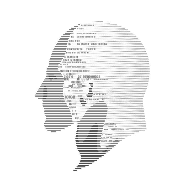Ψηφιακό κεφάλι απεικόνιση αποθεμάτων