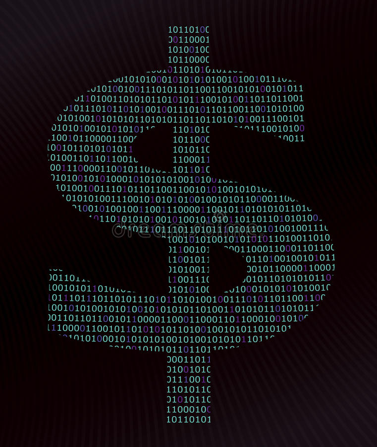 Ψηφιακό δολάριο στοκ φωτογραφία με δικαίωμα ελεύθερης χρήσης