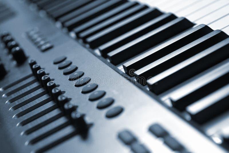 ψηφιακό πιάνο στοκ εικόνες
