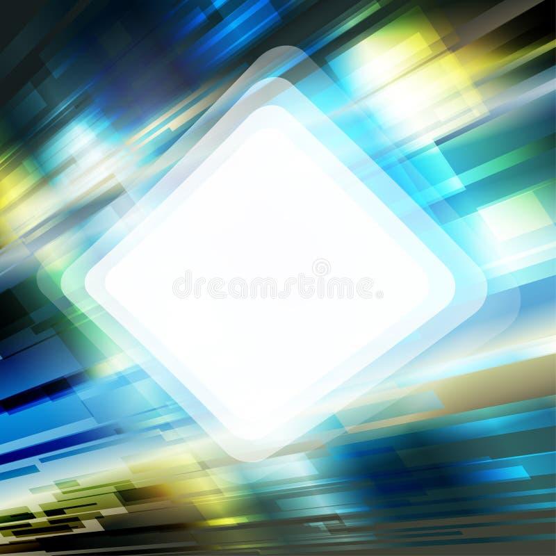 ψηφιακό πλαίσιο σύγχρονο ελεύθερη απεικόνιση δικαιώματος