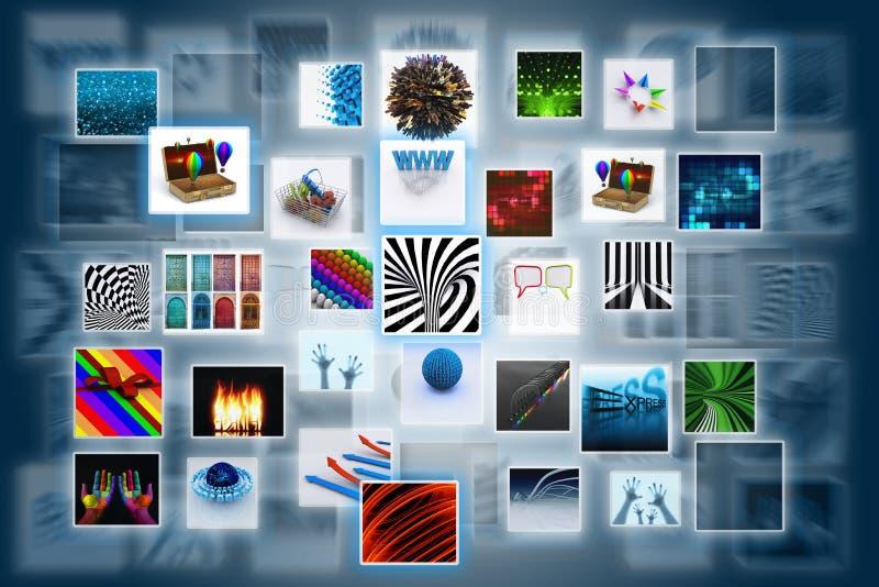 ψηφιακό ρεύμα φωτογραφιών ελεύθερη απεικόνιση δικαιώματος