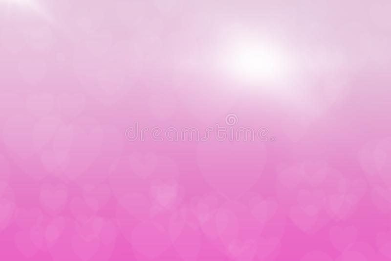 Ψηφιακό υπόβαθρο εικονογράφων τέχνης αφηρημένη καρδιά υποβάθρου χρωμάτων bokeh ιδέες υποβάθρου για τα εμβλήματα σχεδίου σας, βιβλ στοκ εικόνες