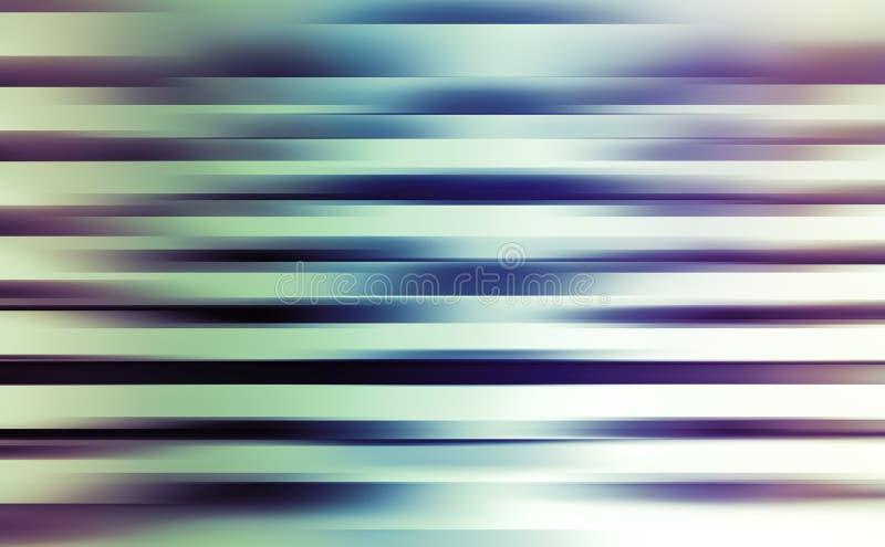 Ψηφιακό υπόβαθρο με τα λάμποντας θολωμένα ζωηρόχρωμα λωρίδες διανυσματική απεικόνιση