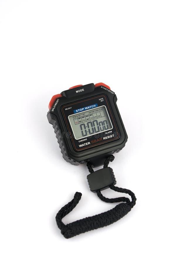 ψηφιακό χρονόμετρο με δια&k στοκ φωτογραφία