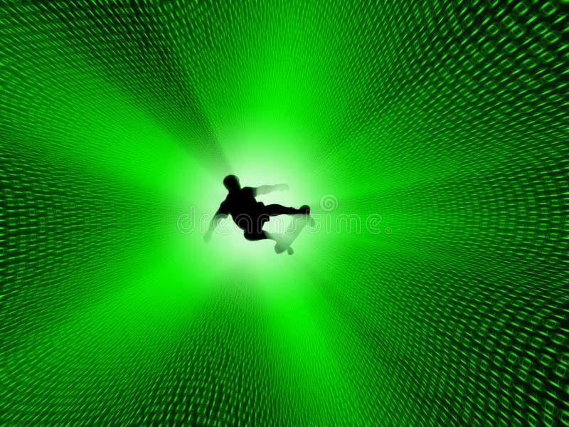 ψηφιακό surfer απεικόνιση αποθεμάτων