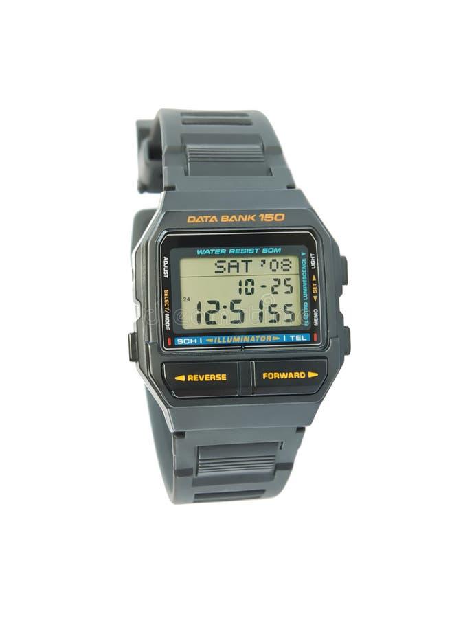 ψηφιακό wristwatch στοκ φωτογραφία με δικαίωμα ελεύθερης χρήσης