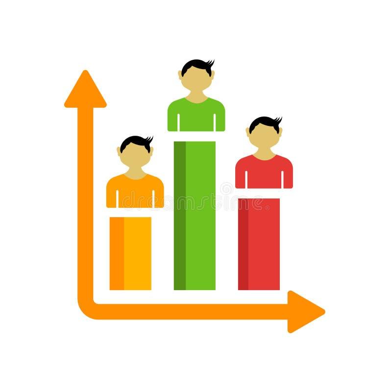 Ψηφοφορίας σημάδι και σύμβολο εικονιδίων διανυσματικό που απομονώνονται στο άσπρο υπόβαθρο απεικόνιση αποθεμάτων