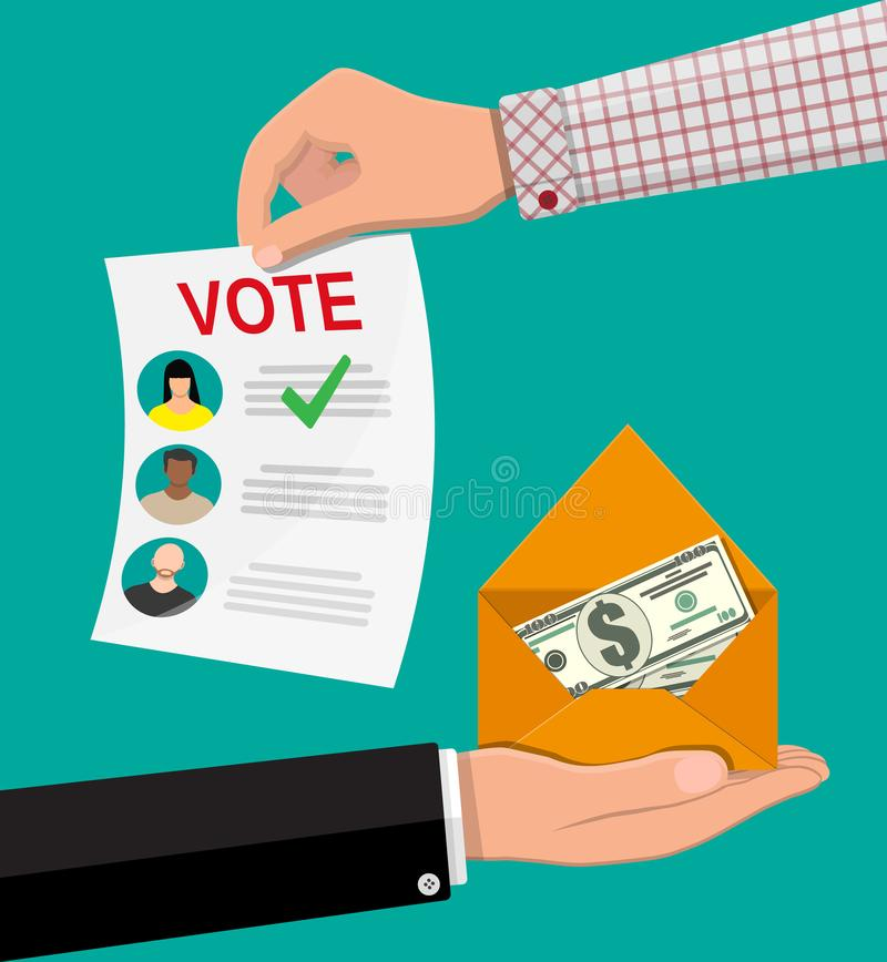 Ψηφοφορία πώλησης για την εκλογή απεικόνιση αποθεμάτων