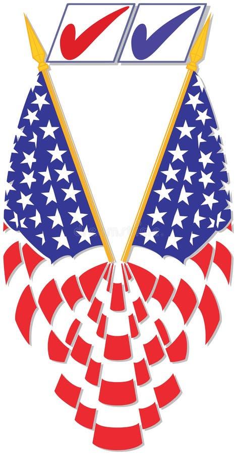 Download ψηφοφορία σημαιών διανυσματική απεικόνιση. εικονογραφία από αστέρι - 22791471