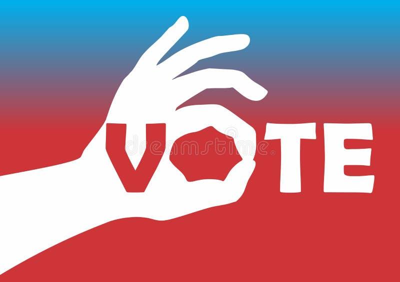 Ψηφοφορία απεικόνιση αποθεμάτων