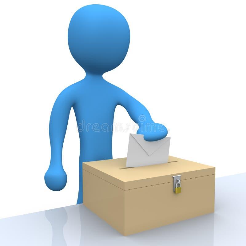 ψηφοφορία ελεύθερη απεικόνιση δικαιώματος