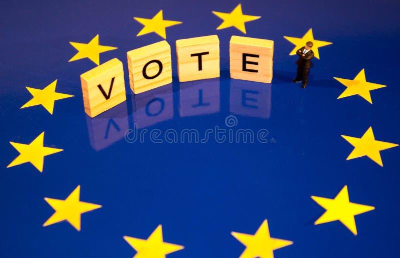 Ψηφοφορία Brexit στοκ φωτογραφία