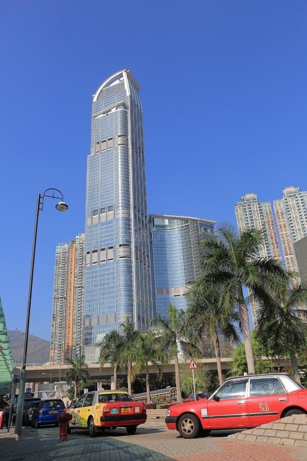 Ψηλό κτίριο στο Χογκ Κογκ στοκ φωτογραφίες