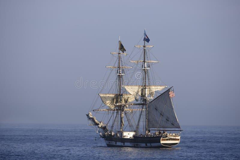 Ψηλό σκάφος στοκ φωτογραφία με δικαίωμα ελεύθερης χρήσης