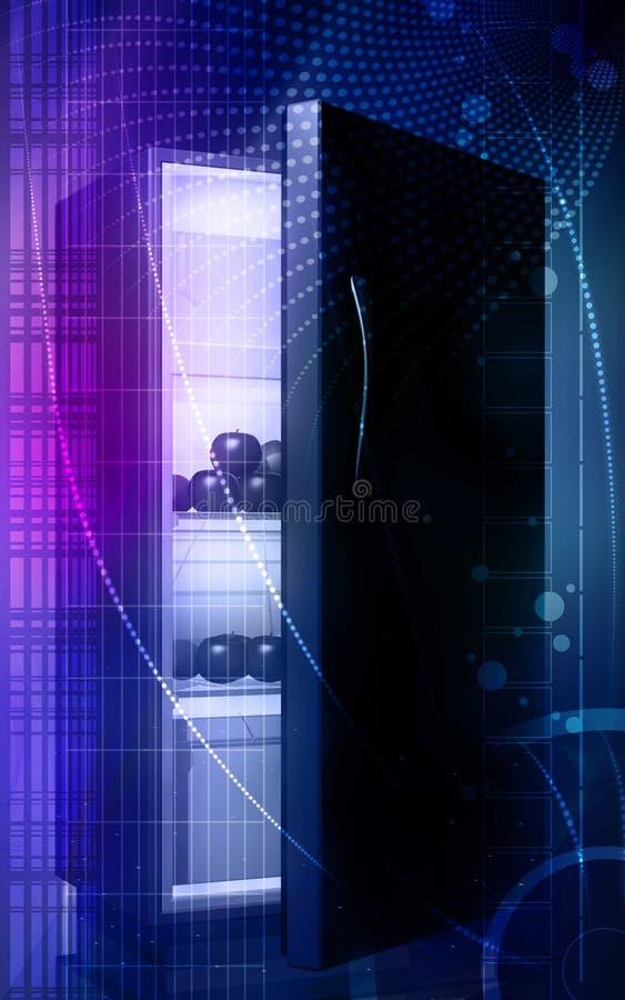 ψυγείο καρπών ελεύθερη απεικόνιση δικαιώματος