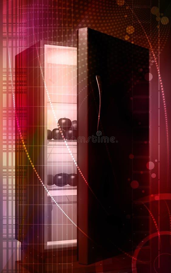 ψυγείο καρπών απεικόνιση αποθεμάτων
