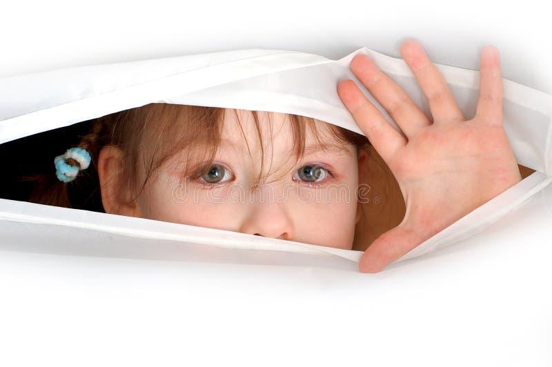 ψυχή καθρεφτών ματιών στοκ φωτογραφία με δικαίωμα ελεύθερης χρήσης
