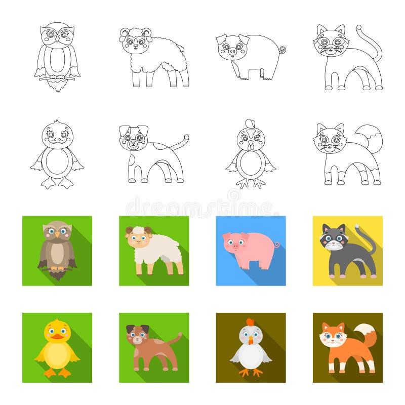 Ψυχαγωγία, αγρόκτημα, κατοικίδια ζώα και άλλο εικονίδιο Ιστού στην περίληψη, επίπεδο ύφος Αυγά, παιχνίδι, εικονίδια αναψυχής στην απεικόνιση αποθεμάτων