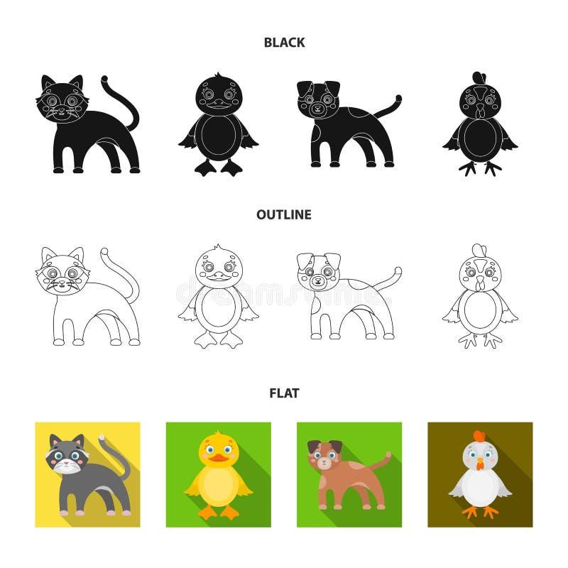 Ψυχαγωγία, αγρόκτημα, κατοικίδια ζώα και άλλο εικονίδιο Ιστού στο Μαύρο, επίπεδος, ύφος περιλήψεων Αυγά, παιχνίδι, εικονίδια αναψ διανυσματική απεικόνιση