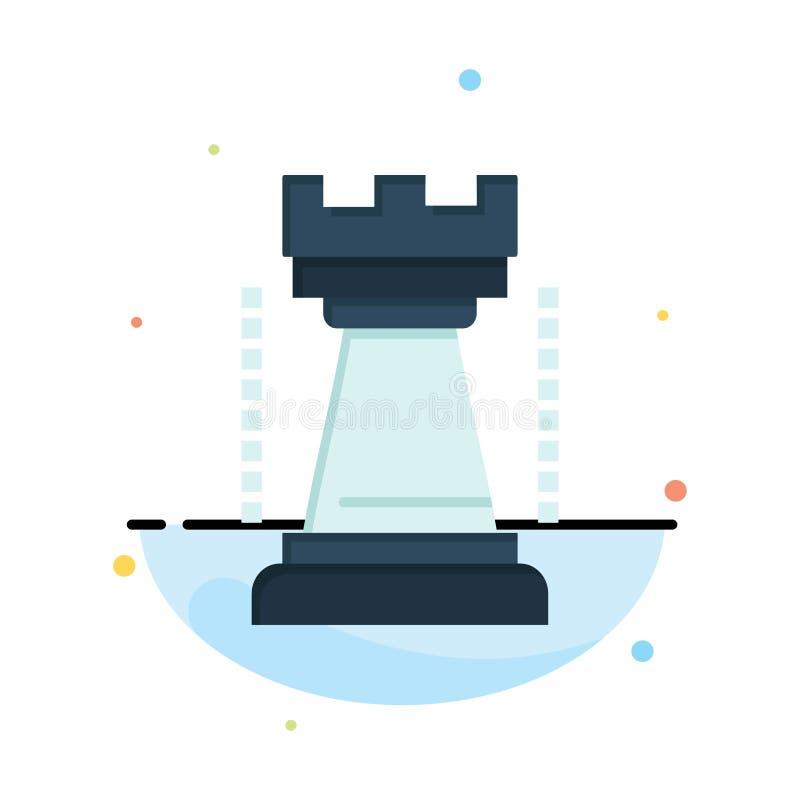 Ψυχαγωγία, παιχνίδια, βασιλιάς, πρότυπο εικονιδίων αθλητικού αφηρημένο επίπεδο χρώματος διανυσματική απεικόνιση
