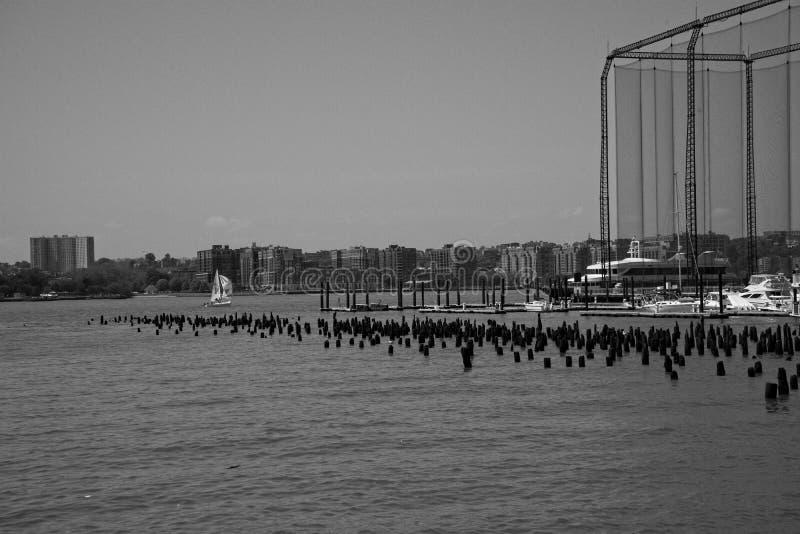 Ψυχαγωγικός σύνθετος αποβαθρών της Chelsea στην πόλη της Νέας Υόρκης στοκ φωτογραφία με δικαίωμα ελεύθερης χρήσης